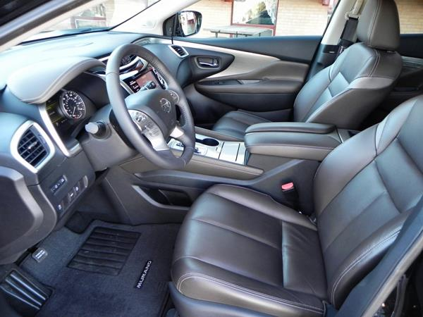 2015 Nissan Murano - interior 1 - AOA1200px