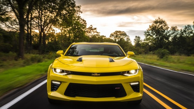 2016 Chevrolet Camaro SS-front