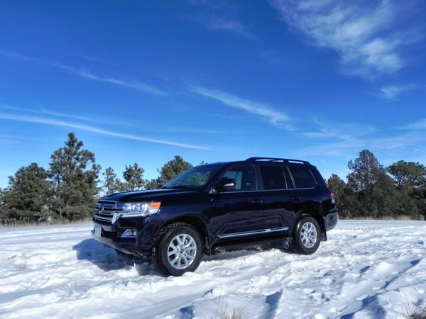 2016 Toyota Land Cruiser - 1 - AOA
