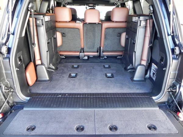 2016 Toyota Land Cruiser - interior 6 - AOA