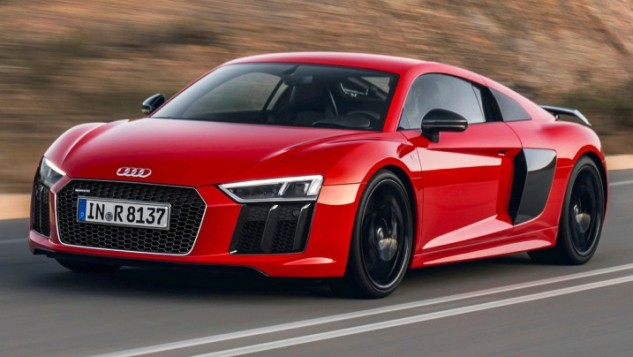 2017 Audi R8 V10 plus quattro coupe