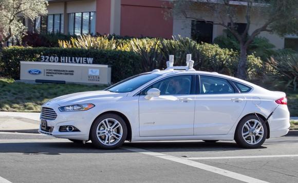 Ford Fusion prototype autonomous car