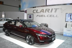Honda Clarity Fuel Cell @ LA