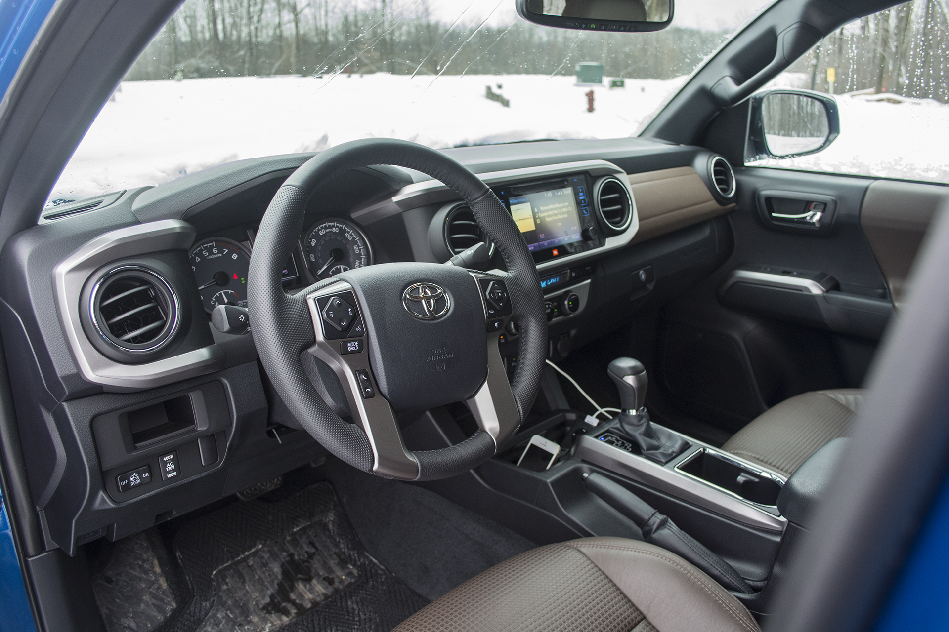 2016 Toyota Tacoma Limited Double Cab 4X4 12
