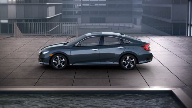 2016 Honda Civic-blue