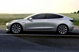 Tesla Model 3 - Photo credit: Tesla Motors
