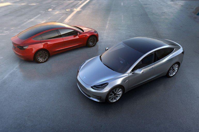 Tesla Model 3 Photo Credit Motors