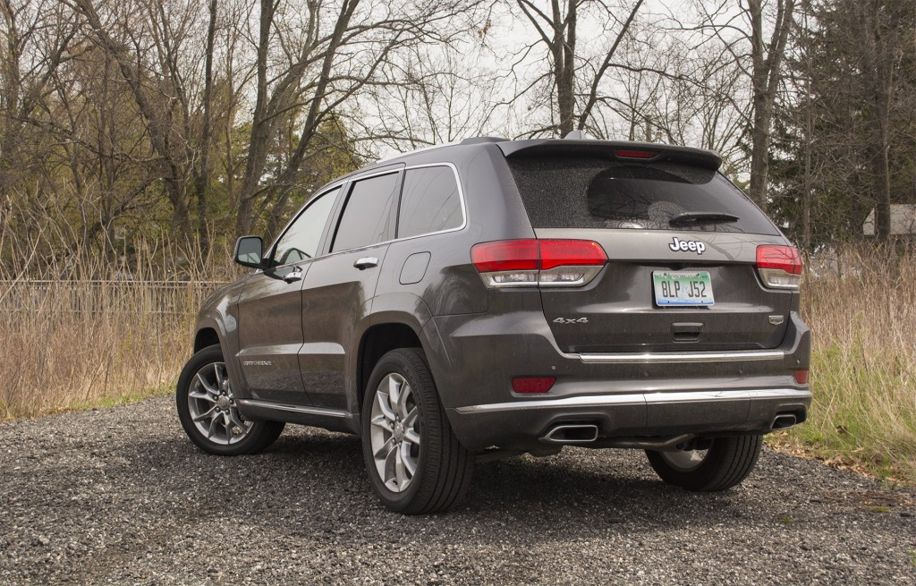 2016 Jeep Grand Cherokee Summit 5