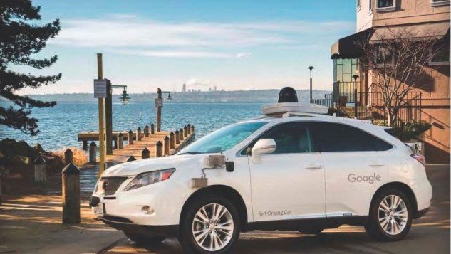 Google Self-Driving Lexus SUV