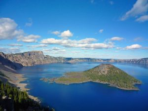 Crater Lake in Summer-National Park Service photo