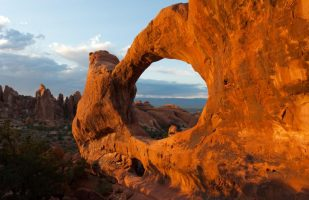 Double O Arch-National Park Service photo