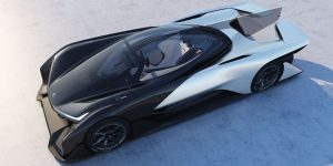 Faraday Future electric concept car-FFZERO1