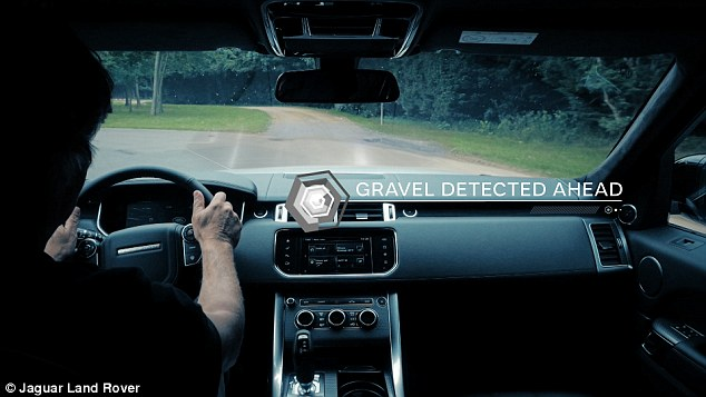 3D Path Sensing - Photo by Jaguar Land Rover