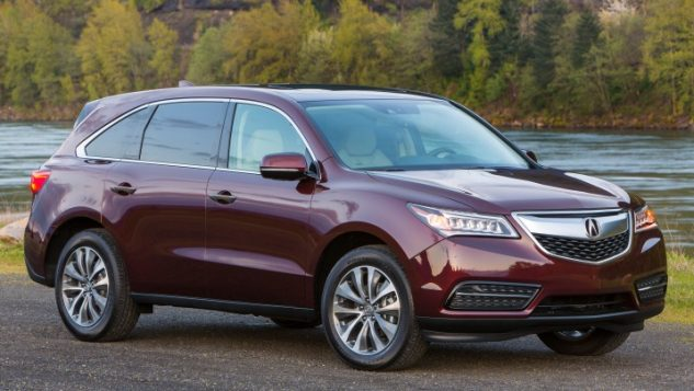 review redesigned 2016 acura mdx boasts quiet interior and great handling. Black Bedroom Furniture Sets. Home Design Ideas