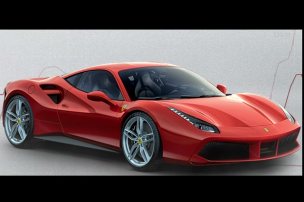 Marvelous 2016 Ferrari 488 GTB Convertible