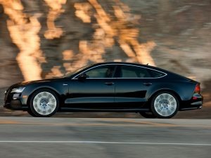Audi A7 drove 550 miles by itself in 2015