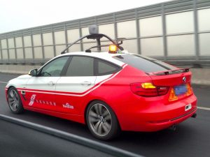 Baidu's driverless car