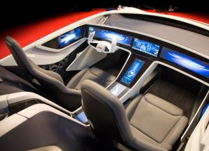 Bosch driverless car interior concept