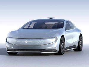 LeEco driverless car concept