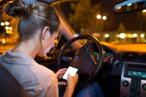 Texting while driving-Photo credit: State Farm