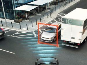 Volvo City Safety with Autobrake-Intersection