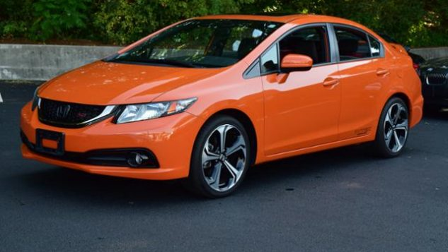 orange civic
