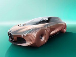 BMW self-driving car concept