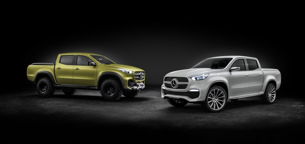 Mercedes-Benz Concept X-CLASS stylish explorer and powerful adventurer