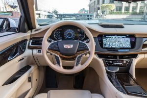 2017 Cadillac CT6 Super Cruise driver-assist technology