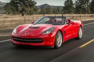 2017 Chevrolet Corvette Stingray Z51 convertible