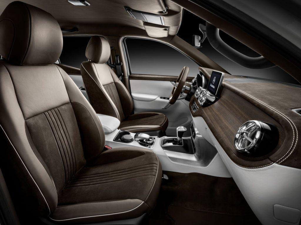 Mercedes-Benz X-Class concept interior