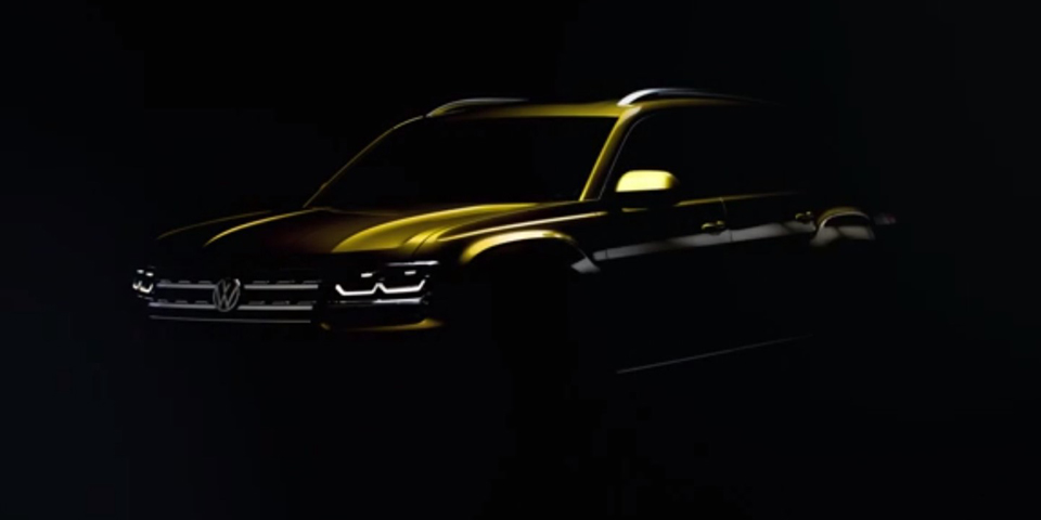Volkswagen Atlas teaser photo