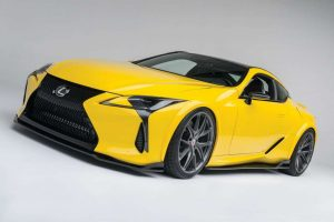 2017 Lexus LC 500 customized