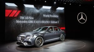 Mercedes-AMG E 63S 4MATIC+ Mercedes-Benz & smart at the Los Angeles Auto Show 2016: World Premiere of the new Mercedes-AMG E 63S 4MATIC+;