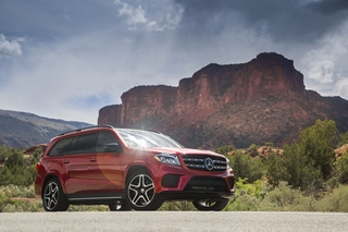 The 2017 Mercedes-Benz GLS550