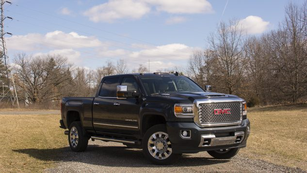 review 2017 gmc sierra 2500hd can tow the world. Black Bedroom Furniture Sets. Home Design Ideas