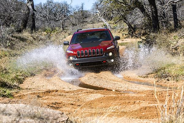 2018 Jeep® Cherokee Trailhawk