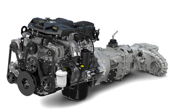 Ram Heavy Duty 6.7-liter I-6 Cummins Diesel engine with six-speed manual transmission and 4x4 transfer case