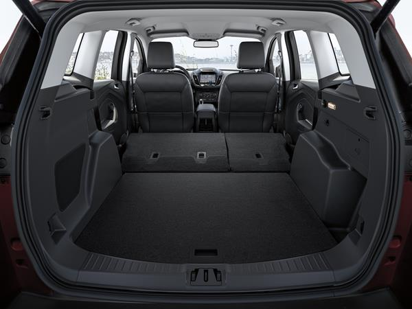 2019 Escape cargo area - charcoal black